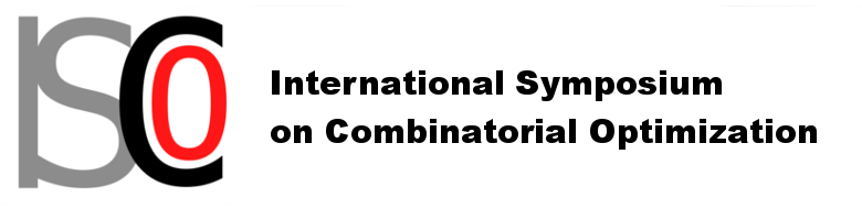 ISCO International Symposium on Combinatorial Optimization