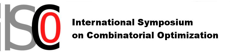 ISCO International Symposium on Combinatorial Optimization
